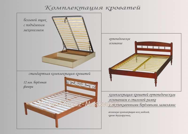 Кровать Ариэль-2 (эконом)