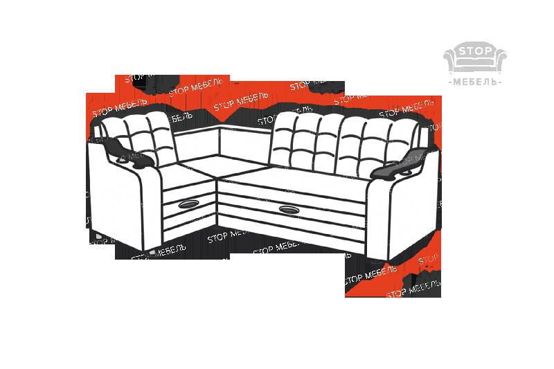 Угловой диван Лира-1